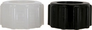 Nylon & Polypropylene Straight Swivel Nuts