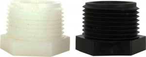 Nylon & Polypropylene Hex Plugs