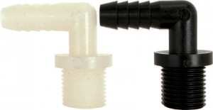 Male Nylon & Polypropylene Elbow Pipe Fittings