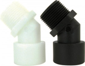 Nylon & Polypropylene 45 Degree Street Elbow Pipe Fittings