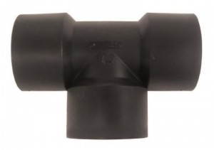 Nylon & Polypropylene 1/4 Gauge Port Tee
